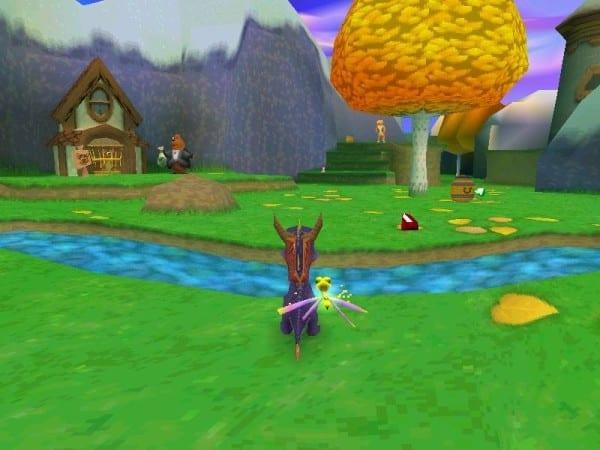Spyro the Dragon, remastered