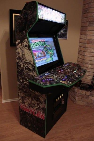 TMNT arcade cabinet 1