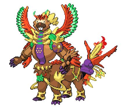 Bidoof Legendaries spliced fusion pokemon combined together