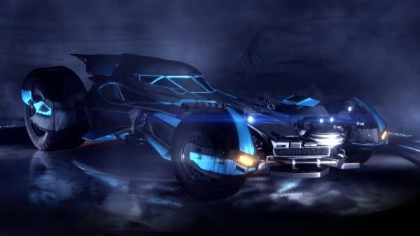 Rocket League, Batmobile, Batman vs. Superman, DLC
