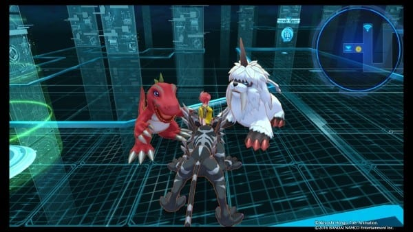 Grinding takes a while in both Digimon and Pokemon, but it at least goes faster in Digimon.