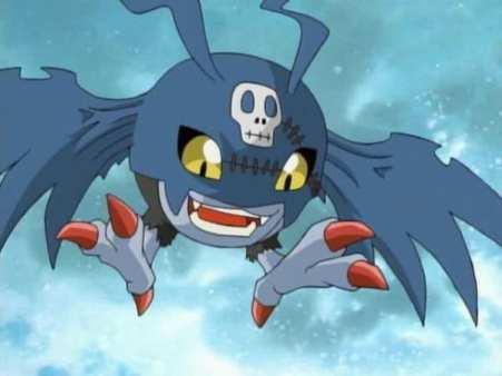 Digimon, DemiDevimon, Dark Side