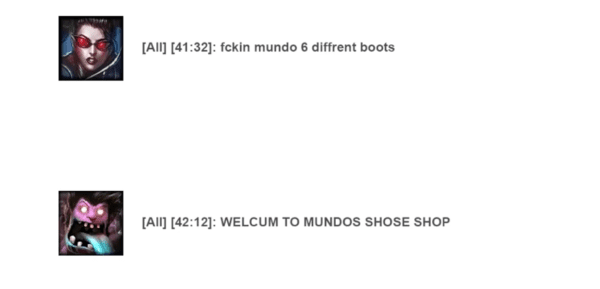 mundo's shoe shop league of legends boots