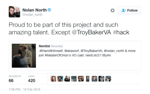 nolan north twitter tweet