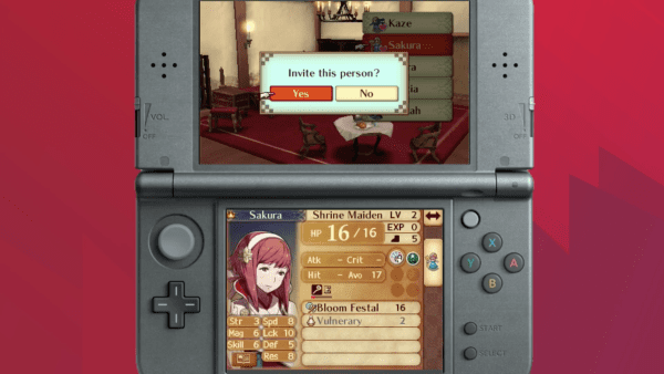 Fire Emblem Fates, Support Relationships, conversations, private quarters