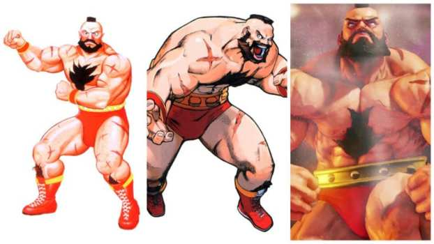 Zangief (Street Fighter) - Wrestling Freestyle