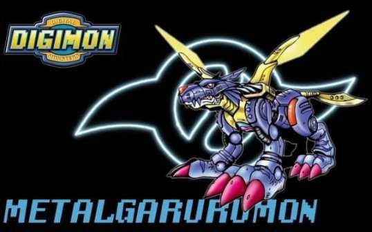 Digimon, Metalgarurumon, Adventure