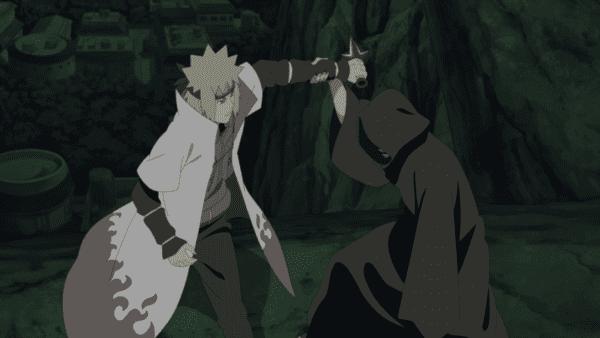 naruto minato vs the masked man