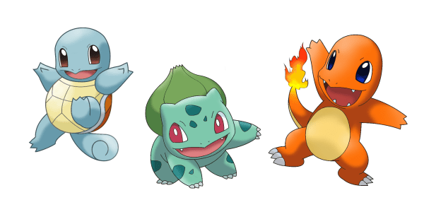 pokémon, starters, debate, best, red, blue, amazing