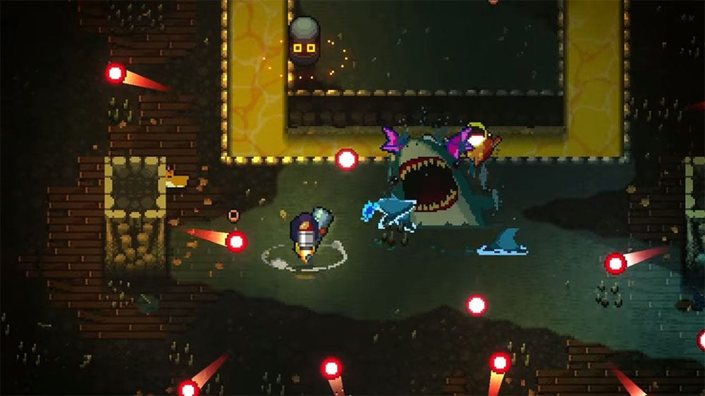 Enter the Gungeon How to Play CoOp