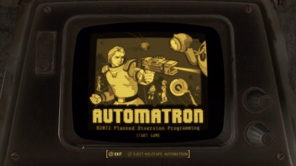 Fallout 4 holotape automatron how to get dlc game