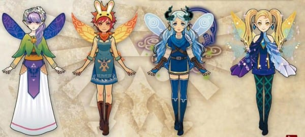 Hyrule Warriors Legends, My Fairy Mode