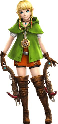 Hyrule Warriors Legends, Linkle