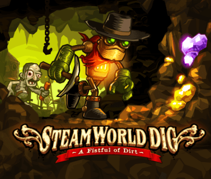 Steam World Dig & Steam World Heist