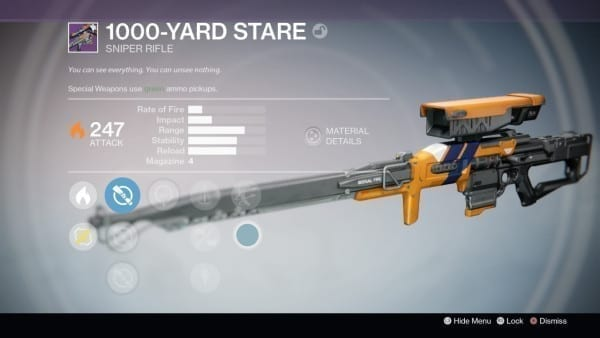 destiny 1000 yard stare