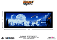 ratchet and clank, merchandise, art print, movie, game
