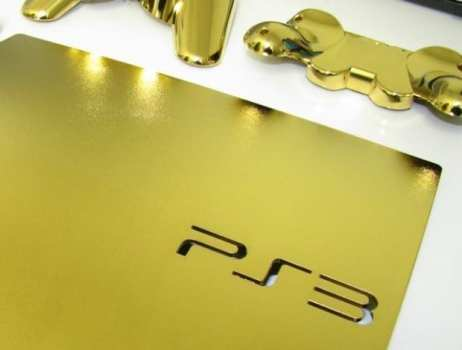 24K Gold Dipped PlayStation 3