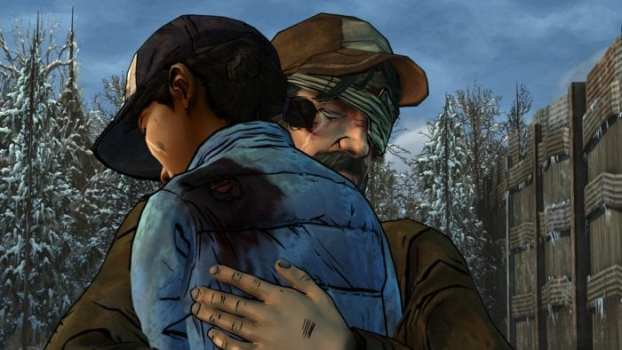 Kenny and Clem's Ending - The Walking Dead Season 2
