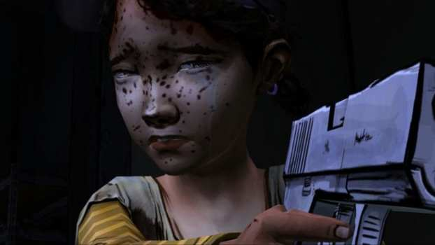 Lee's Final Moments with Clementine - The Walking Dead