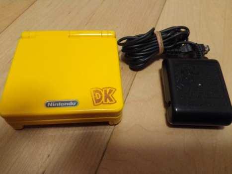 Donkey Kong Game Boy Advance SP