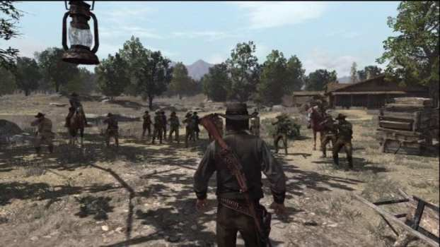 John Marston's End - Red Dead Redemption