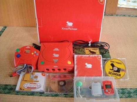 Seaman Christmas Sega Dreamcast