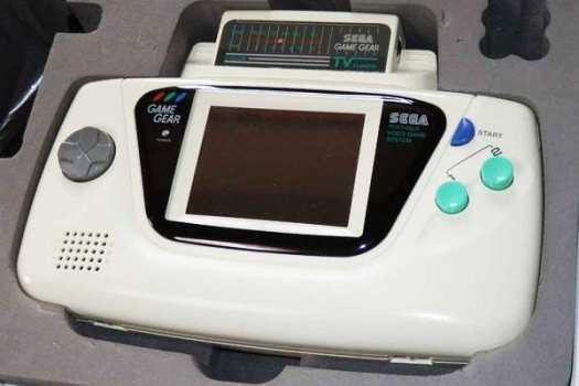 White Sega Game Gear