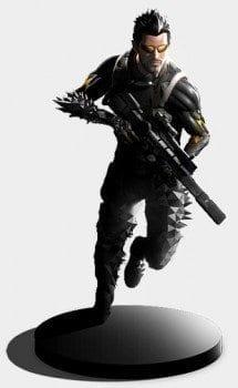 Deus Ex Mankind Divided, collector's edition, statue