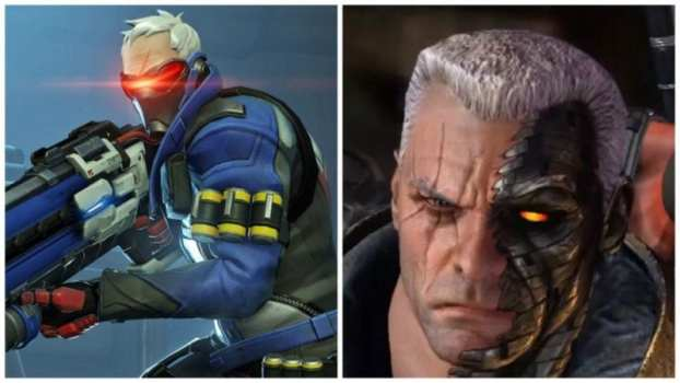 Soldier: 76 -- Cable (X-Men)