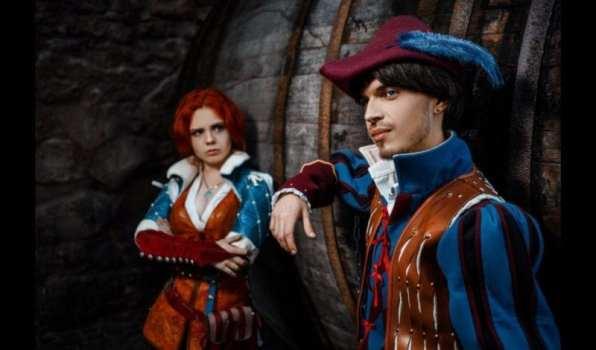Triss Merigold and Dandelion