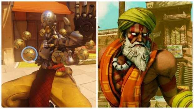 Zenyatta--Dhalsim (Street Fighter)
