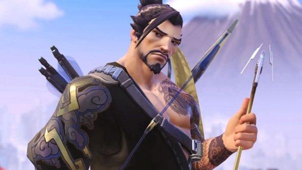 hanzo, overwatch, all heroes