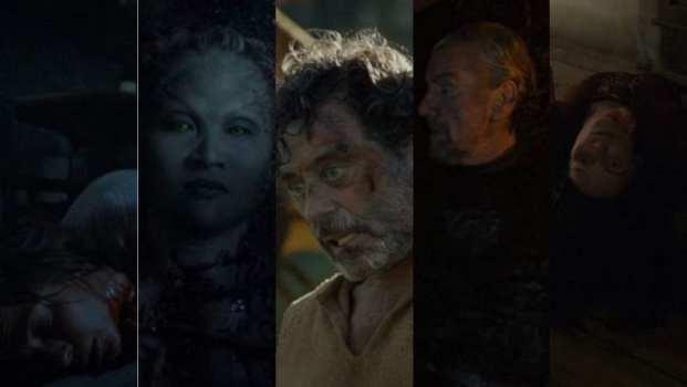 Osha, Leaf, Ray, Brynden Tully, Lady Crane