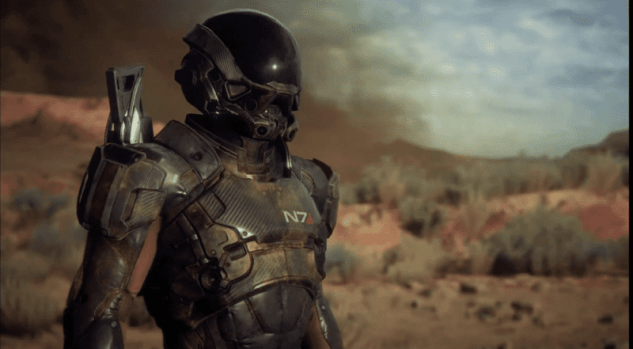 New Mass Effect: Andromeda Footage