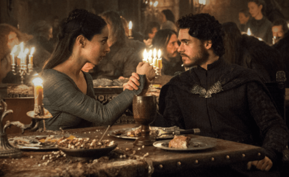 5. Who betrayed Robb at the Red Wedding?