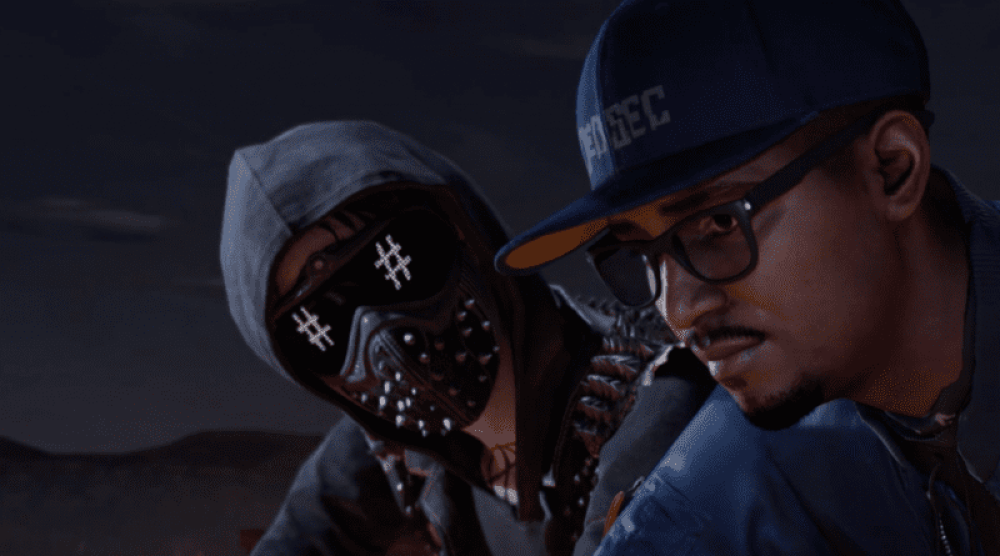 Watch Dogs  Led Goggles Guy