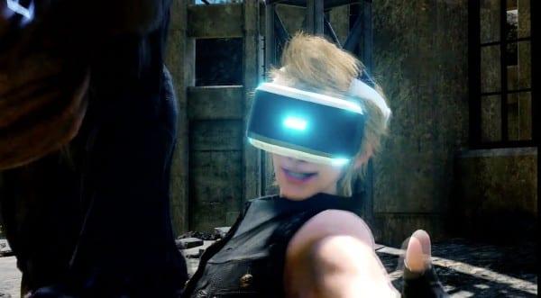 Final Fantasy XV VR