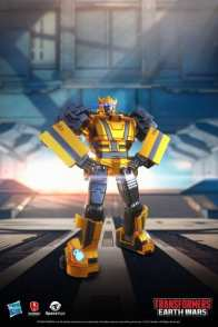 Bumblebee: Bumblebee is among the most open and receptive of all the Autobots in terms of befriending other species, his wide-eyed wonder at his surroundings and his irrepressible enthusiasm, combined with a genuinely affable personality, make him perfect for first contact with an alien species. But don't let that fool you, he may be small but Bumblebee packs a punch in any battle, and he's unflinchingly loyal to the Autobot cause.