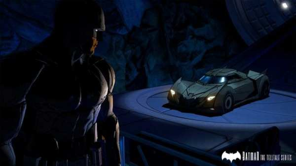 Telltale Games, Batman, Batmobile