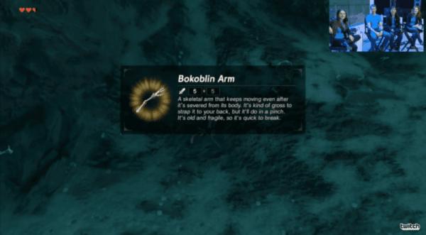 The Legend of Zelda, Breath of the Wild, Bokoblin Arm