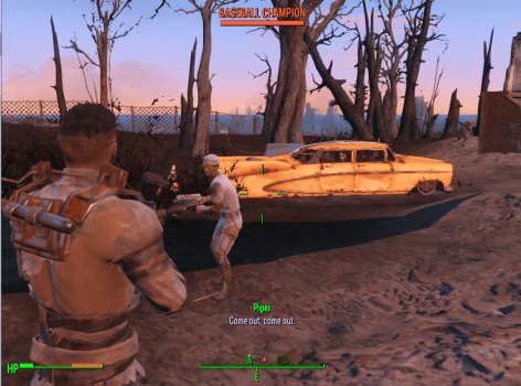 Fallout 4, exotic enemies, mods