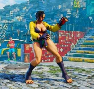 Street Fighter V, Battle Laura