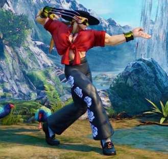 Street Fighter V, Battle Vega