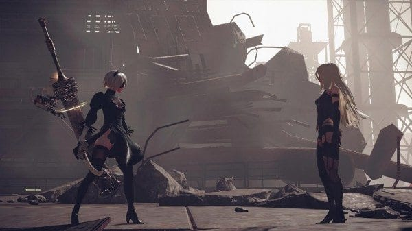 nier automata cool girls