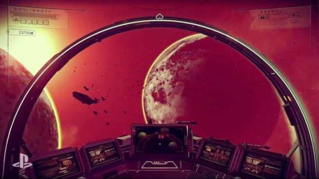 There isn't a story to follow in No Man's Sky