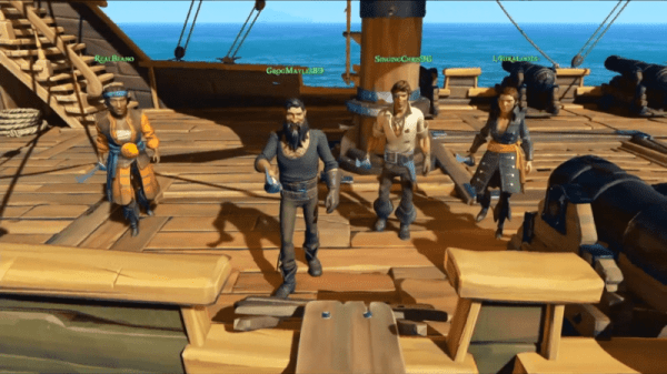 sea of thieves crew