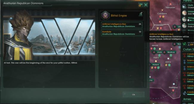 Expanded War Demands