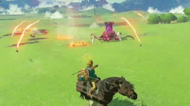 Tons of Gameplay Details on Zelda: Breath of the Wild