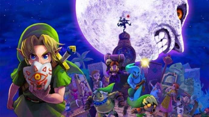 Image result for The Legend of Zelda: Majora's Mask , the moon villains