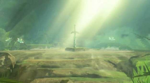 Master Sword from The Legend of Zelda